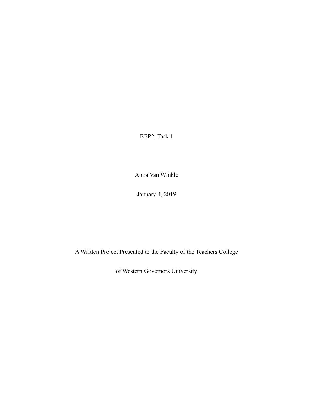 C225 Task 1- Annotated Bibliography - c225 - StuDocu