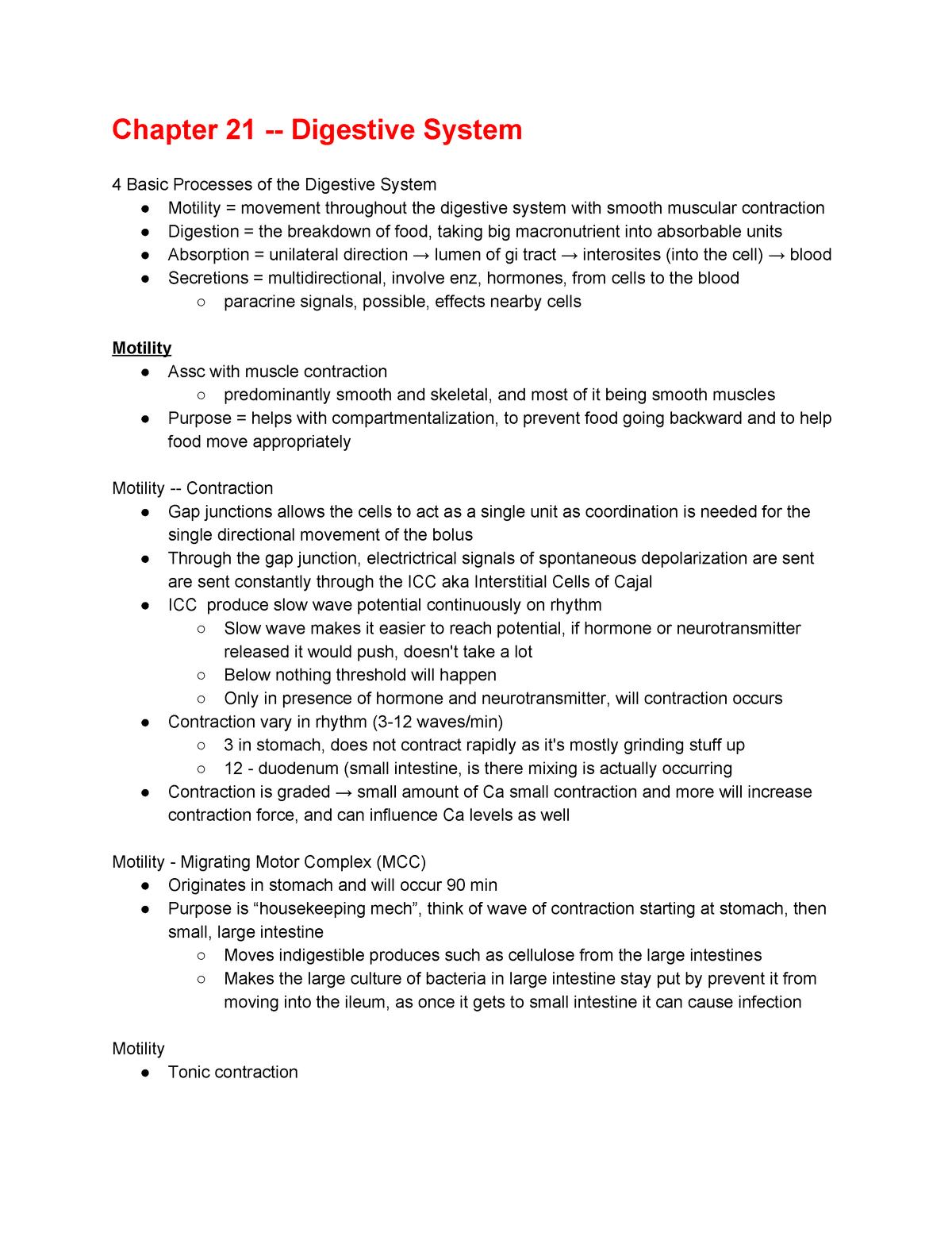 Physio 2 Exam 1 Notes - IPHY 3480: Human Physiology 2 - StuDocu