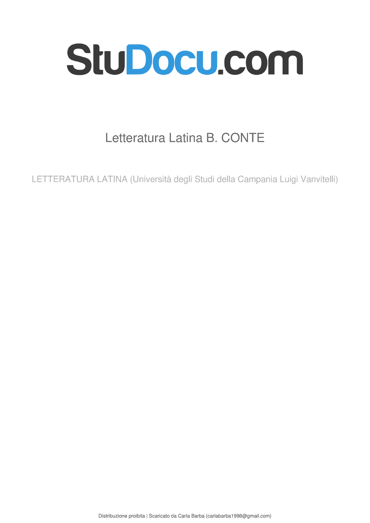 Esame 2016 Domande Letteratura Latina Medievale 14565