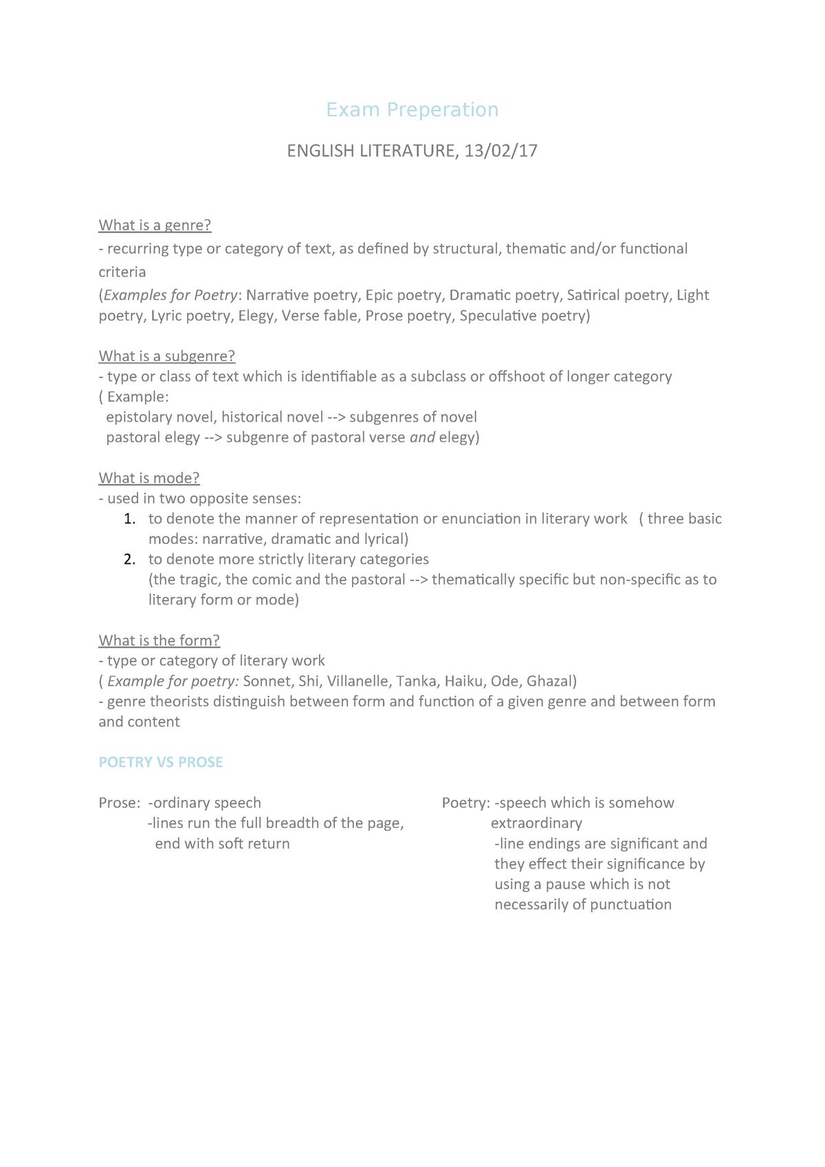 Exam Preperation 1 Zusammenfassung Basic Questions