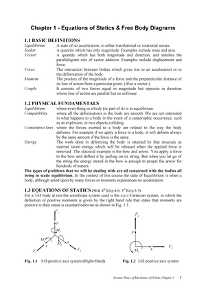 Summary Course Notes Complete Mechanics Of Solids