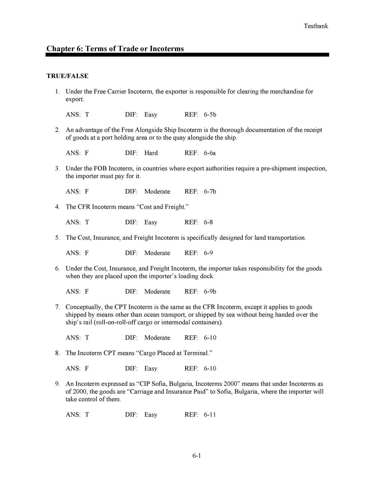 David IL3e TB Ch06 - MKT 764 - MSU - StuDocu