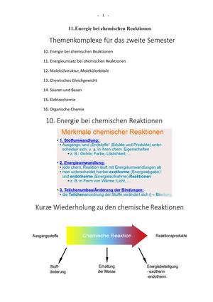 Lehrmanuskript 2 Semester SK - Teil 1 - Allgemeine Chemie