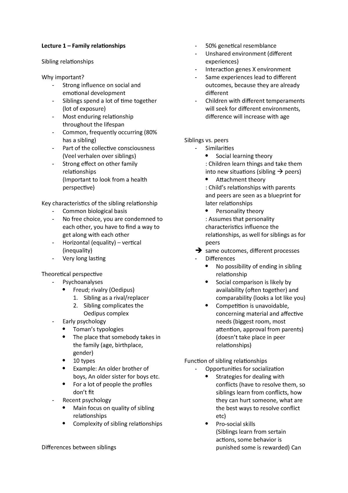 College-aantekeningen, colleges 1 - 8 - 200600048: Psychosocial