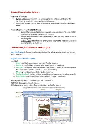 Chapter 03 Summary Essentials Of It And Infrastru Cit210 Studocu