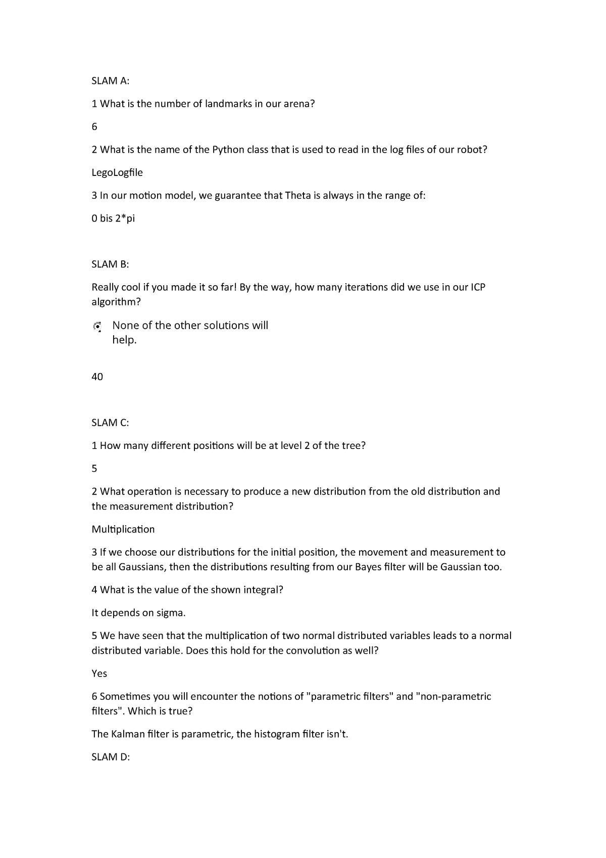 Lernmodule für SLAM A-G - SLAM - StuDocu