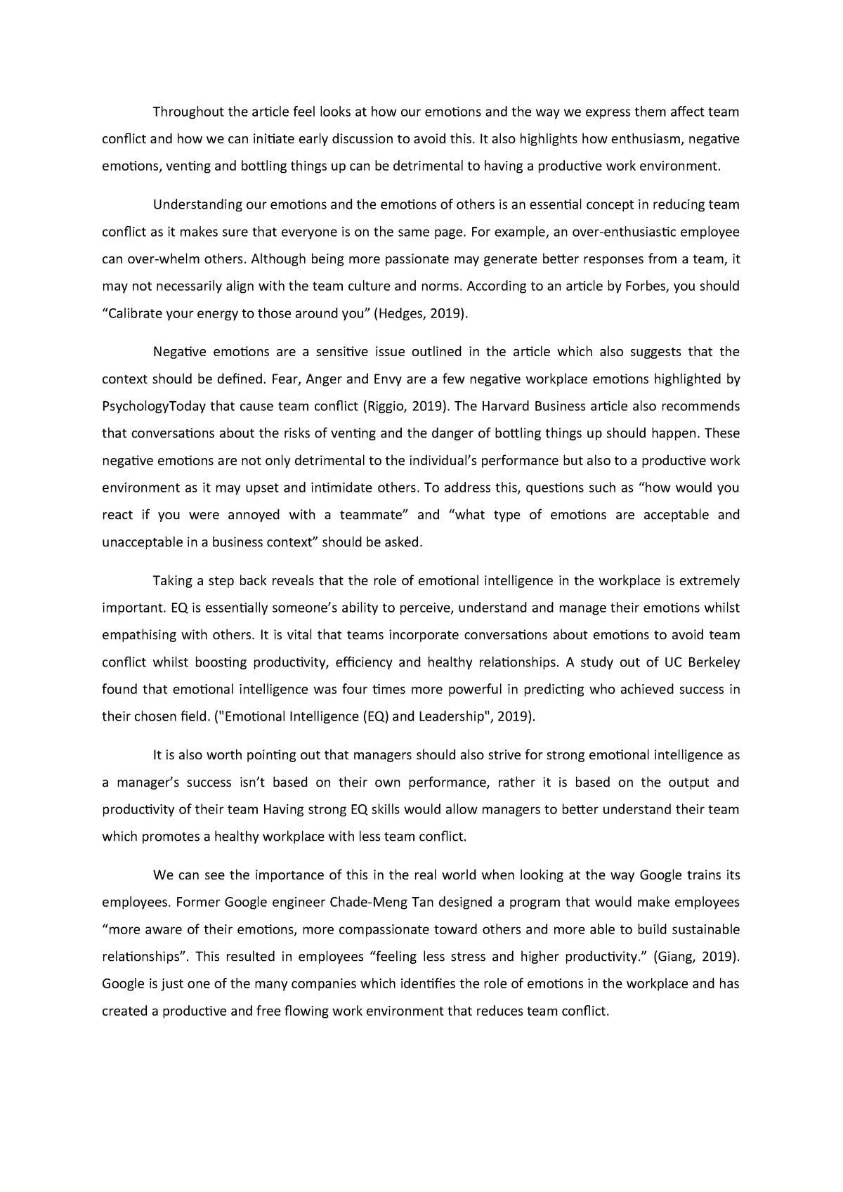 Group presentation: Article 2 - BSB115: Management - StuDocu