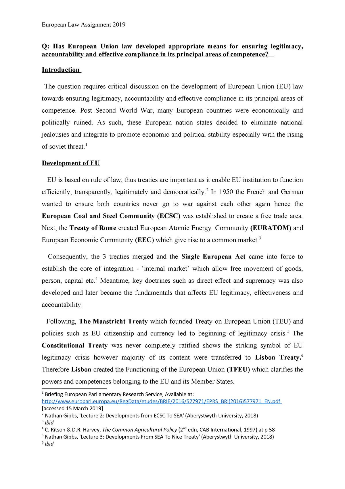 european commission laws