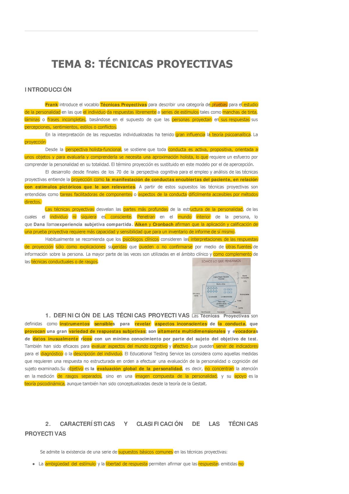 Evaluación Psicológica Capítulo 8 62013094 Uned Studocu