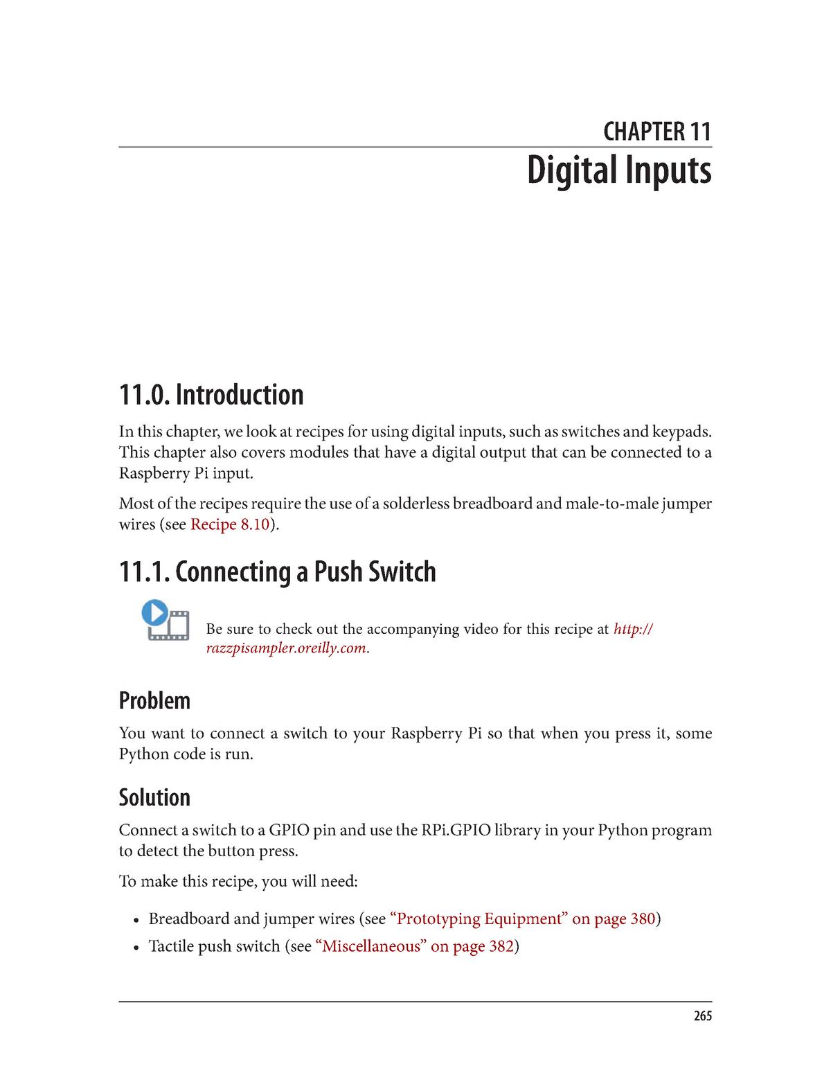 Chapter 11  Digital Inputs - CEIS100 - StuDocu