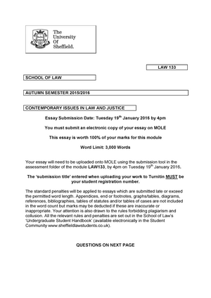 Example Essay English  Businessman Essay also Reflective Essay English Class Exam   Law Contemporary Issues In Law And Justice  Studocu Learn English Essay