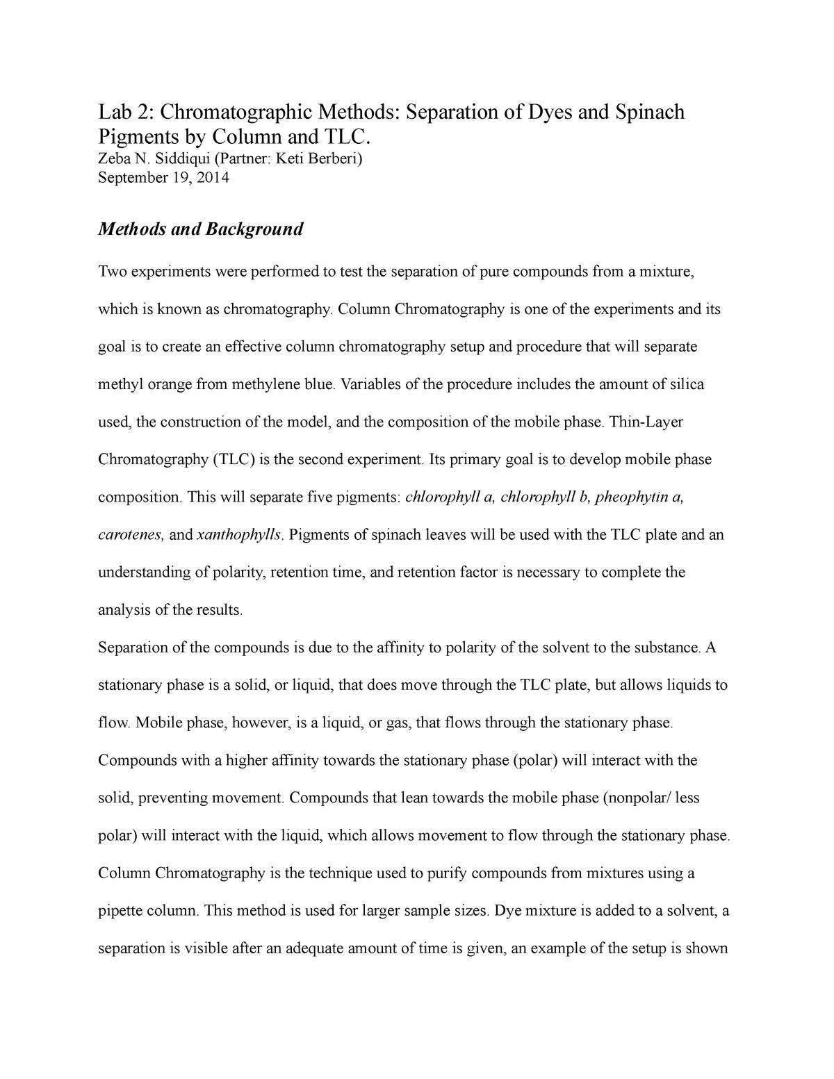 Lab Report 2 - Lecture notes 2 22 - CHEM 233 - UIC - StuDocu