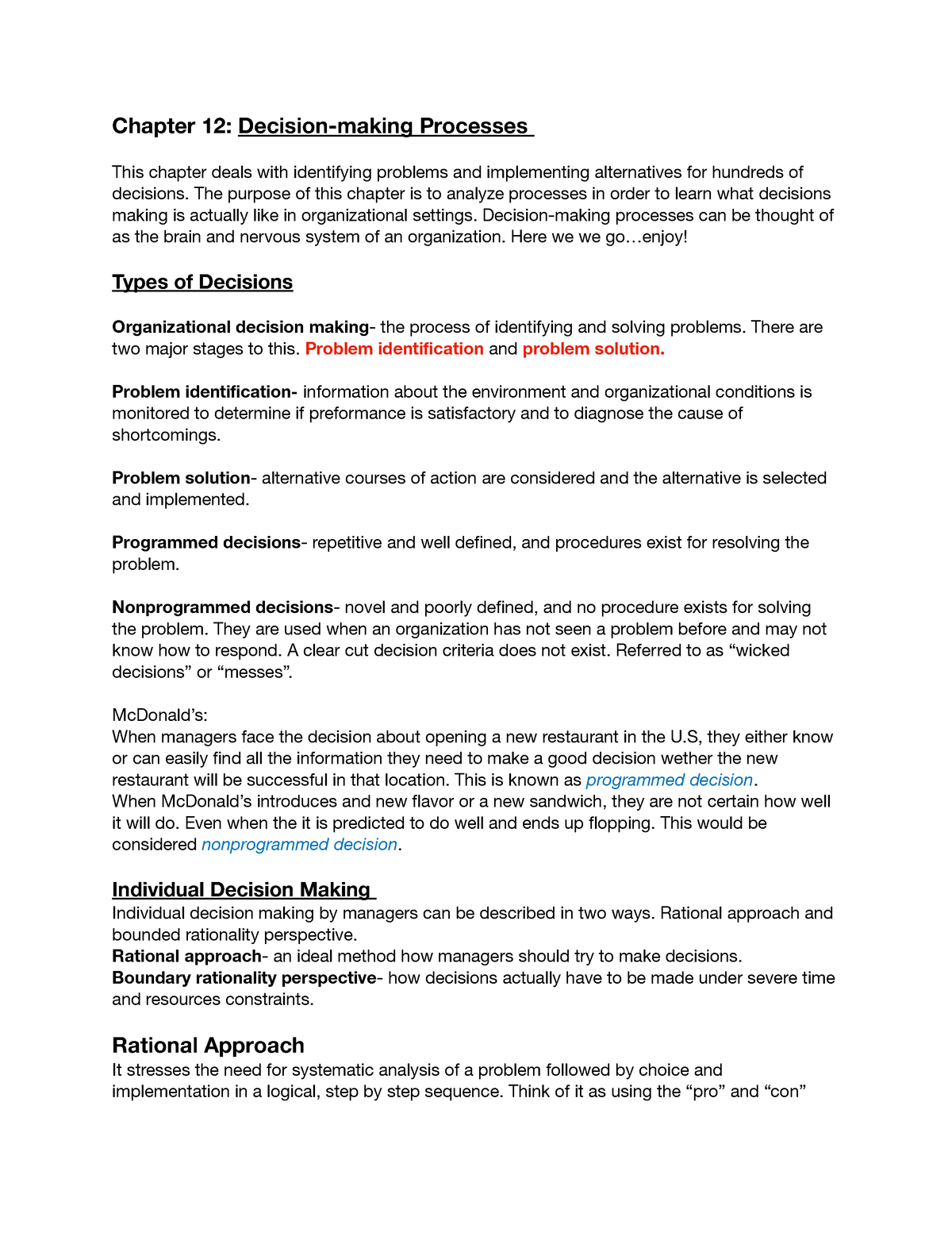 organizational analysis deals with identifying