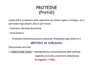 4 - appunti 4 - sm04 5s123: analisi chimiche degli alimenti - studocu