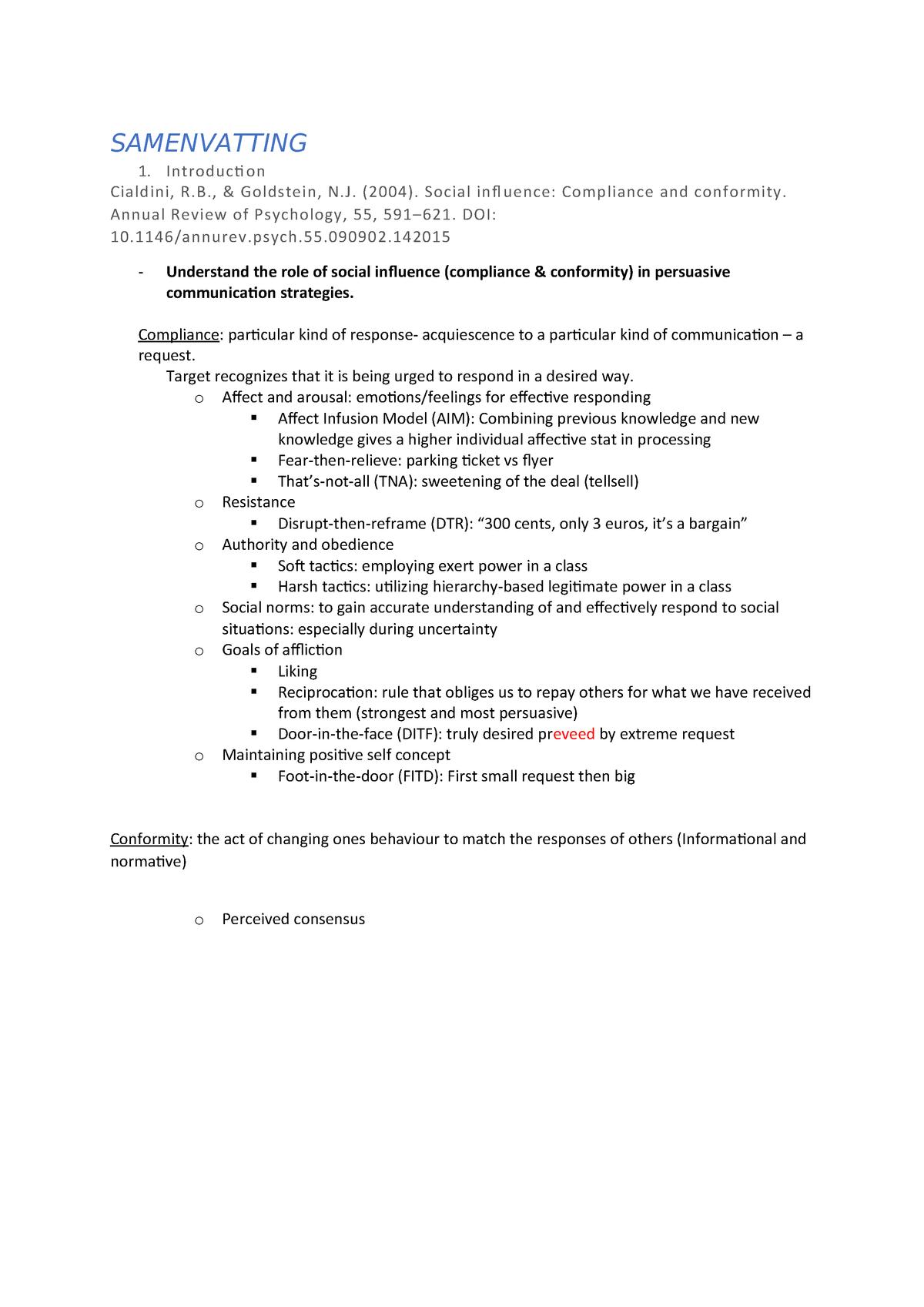 Samenvatting literatuur - CPT-23306 - StuDocu