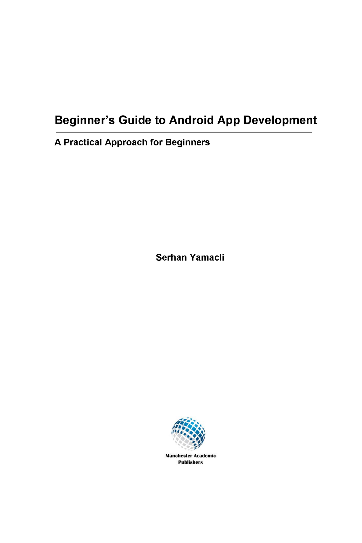 Android Development - Lecture notes 1,2,4,5,7 - Computer