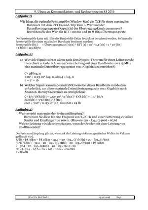 Extrem Uebung-9-Lsg - SoSe17 Lösung - - FH Dortmund - StuDocu LY56