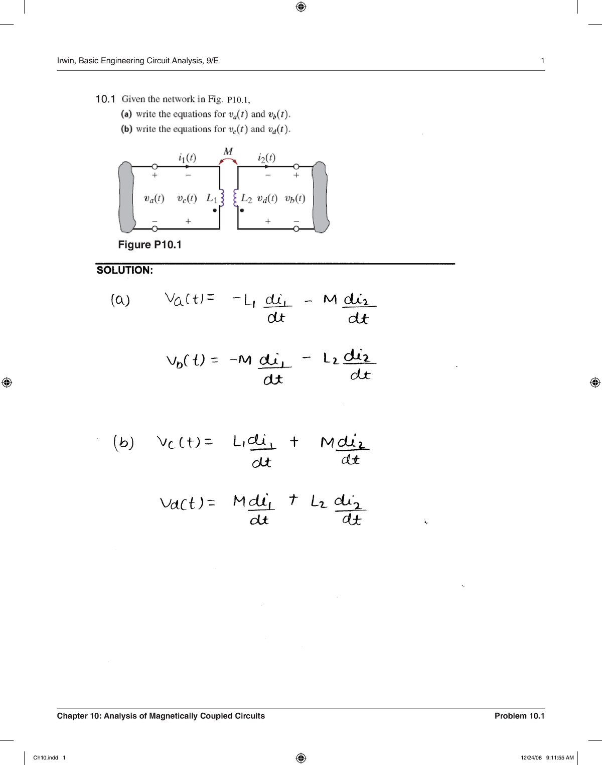 Solution Manual Irwin 9th edition Ch 10 - StuDocu