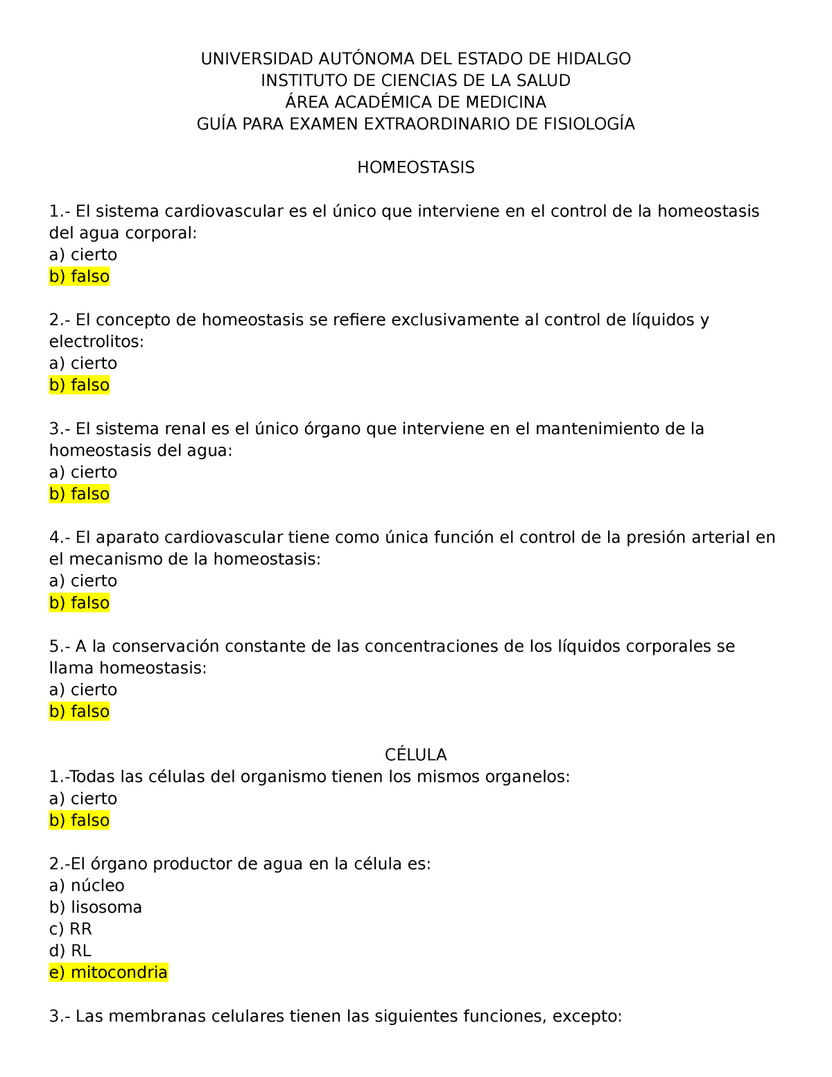 Examen 21 Febrero 2016 Preguntas Y Respuestas Studocu
