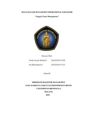 Operations Management Management01 Ub Studocu