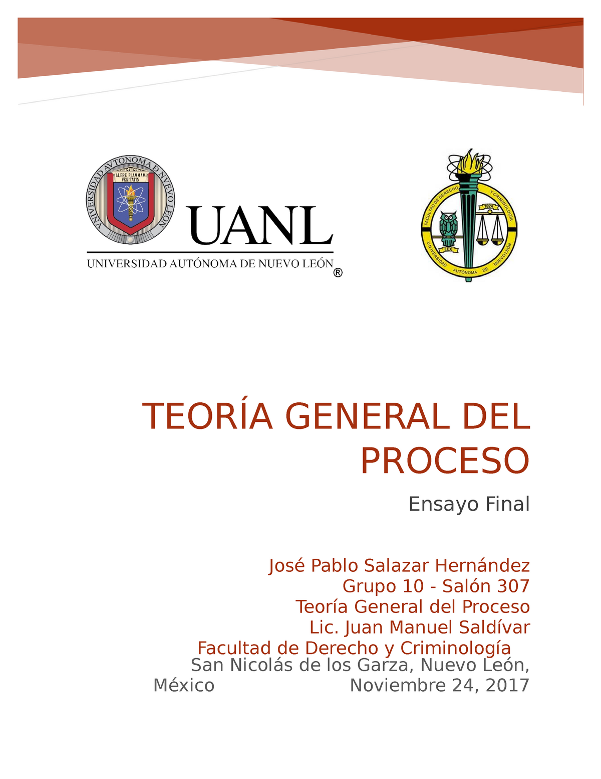Descargar Teoria General Del Proceso Jose Ovalle Favela Ebook Download