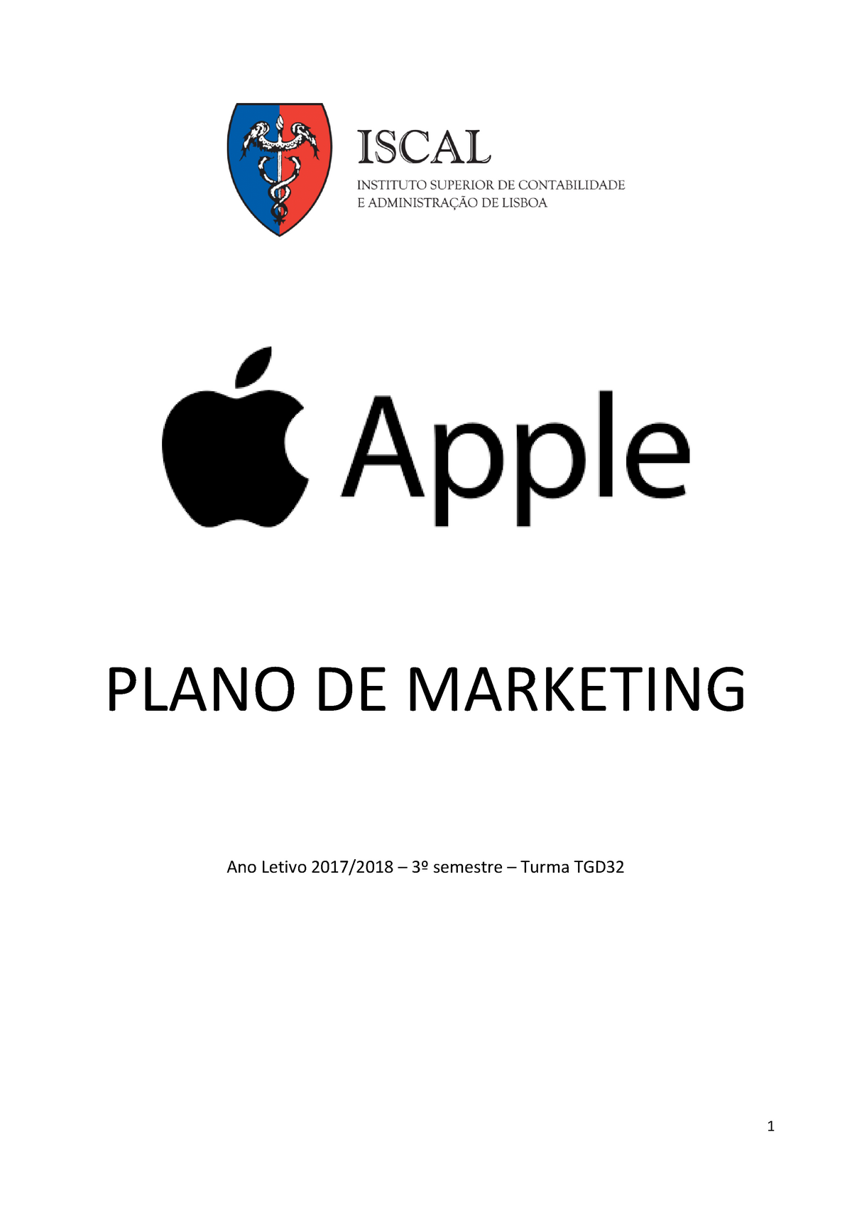 fb3016282ea Projeto de Marketing- Apple - Marketing - StuDocu