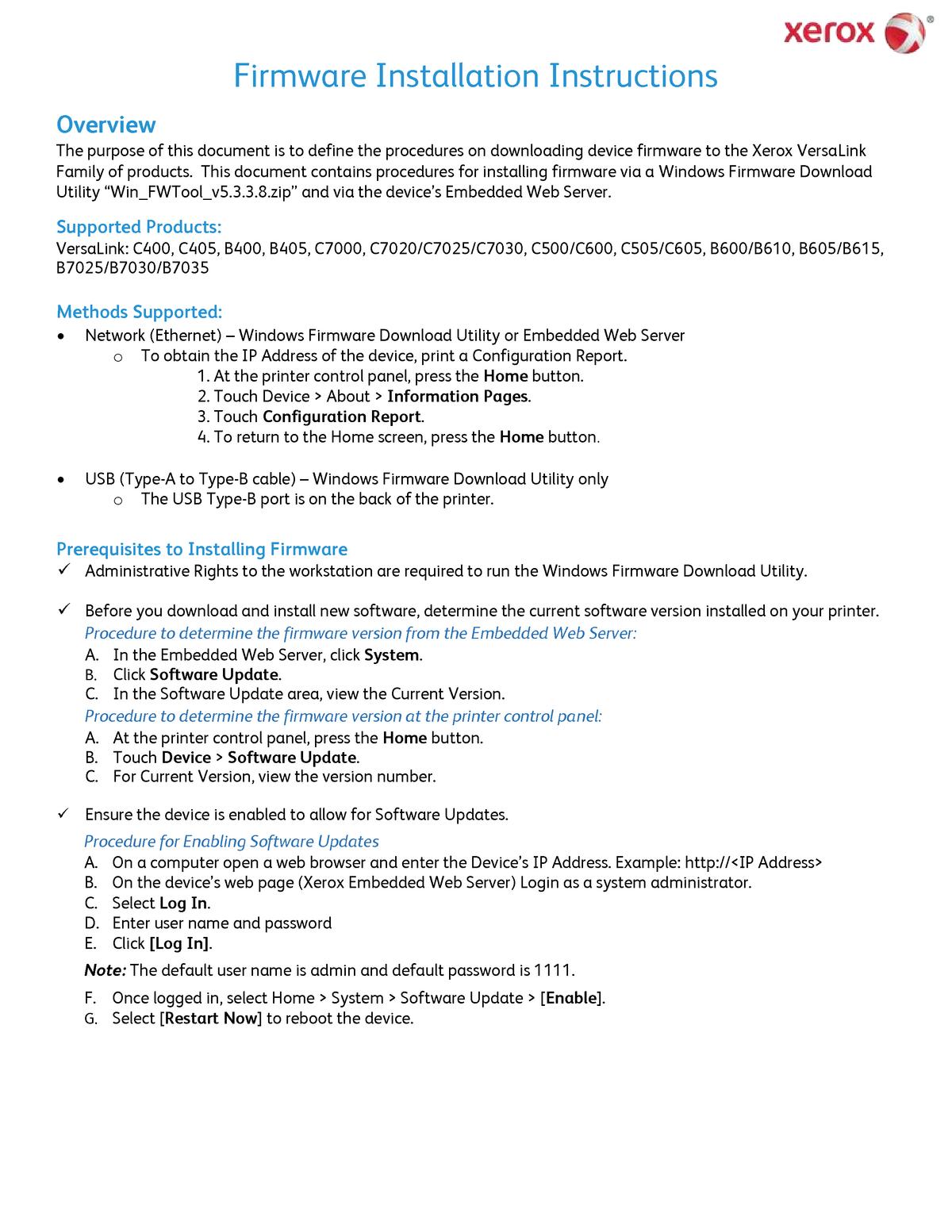 Firmware Installation Instructions v2 - Sociologia 00562