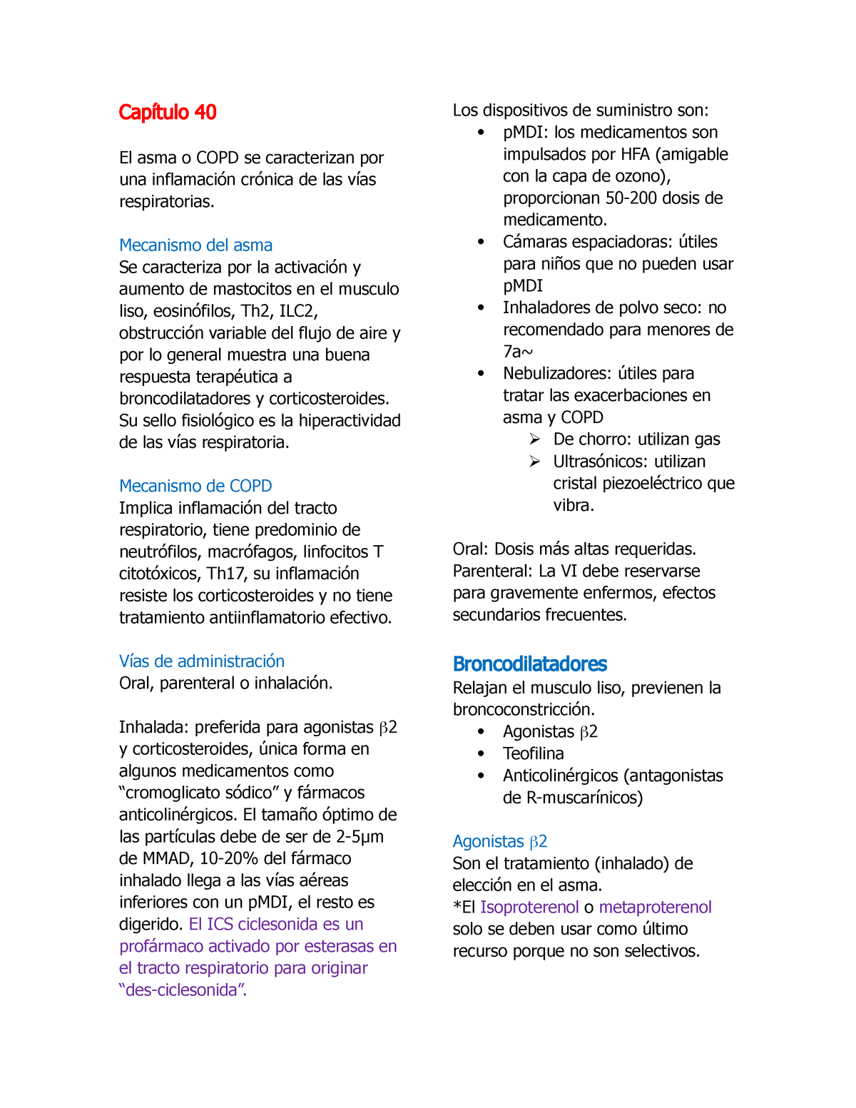 Resumen Farmacologia 2019 1 Farmacologia Clinica Fc2019 Studocu