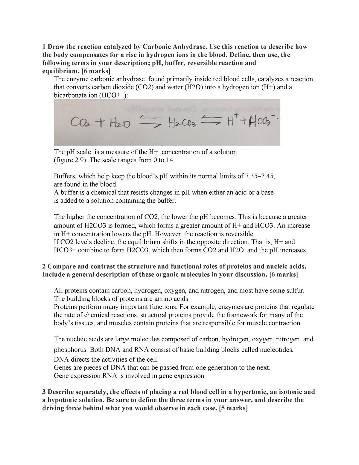 BPK Assignment 1 - Bpk 105 - SFU - StuDocu