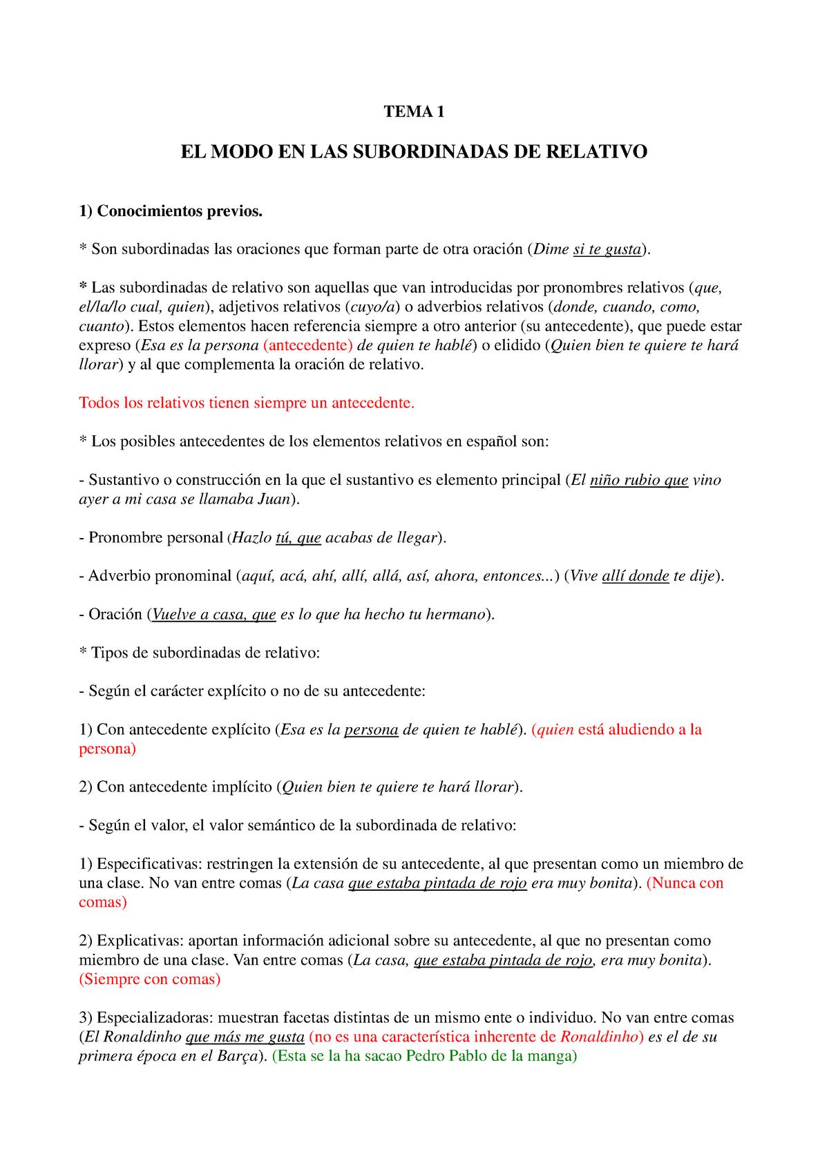 Apuntes Sintaxis 241571c Upv Studocu