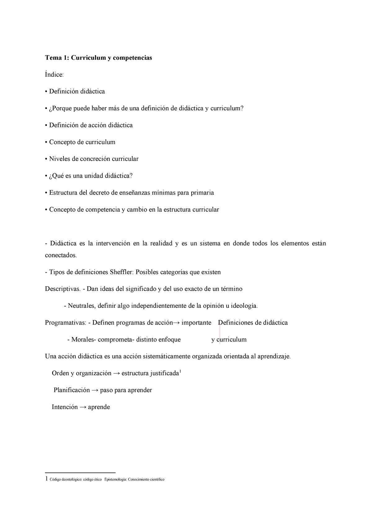 Temas 1 3 Didactica General Uniovi Studocu