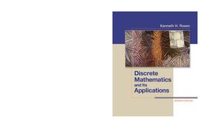 Rosen Discrete Mathematics And Its Applications 7th Edition Studocu