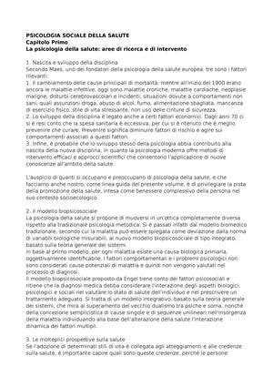 Psicologia Sociale E Di Comunita 09507 Unina Studocu