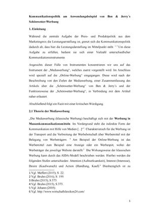 Hausarbeit Marketing 202161 Einführung In Das Marketing Studocu