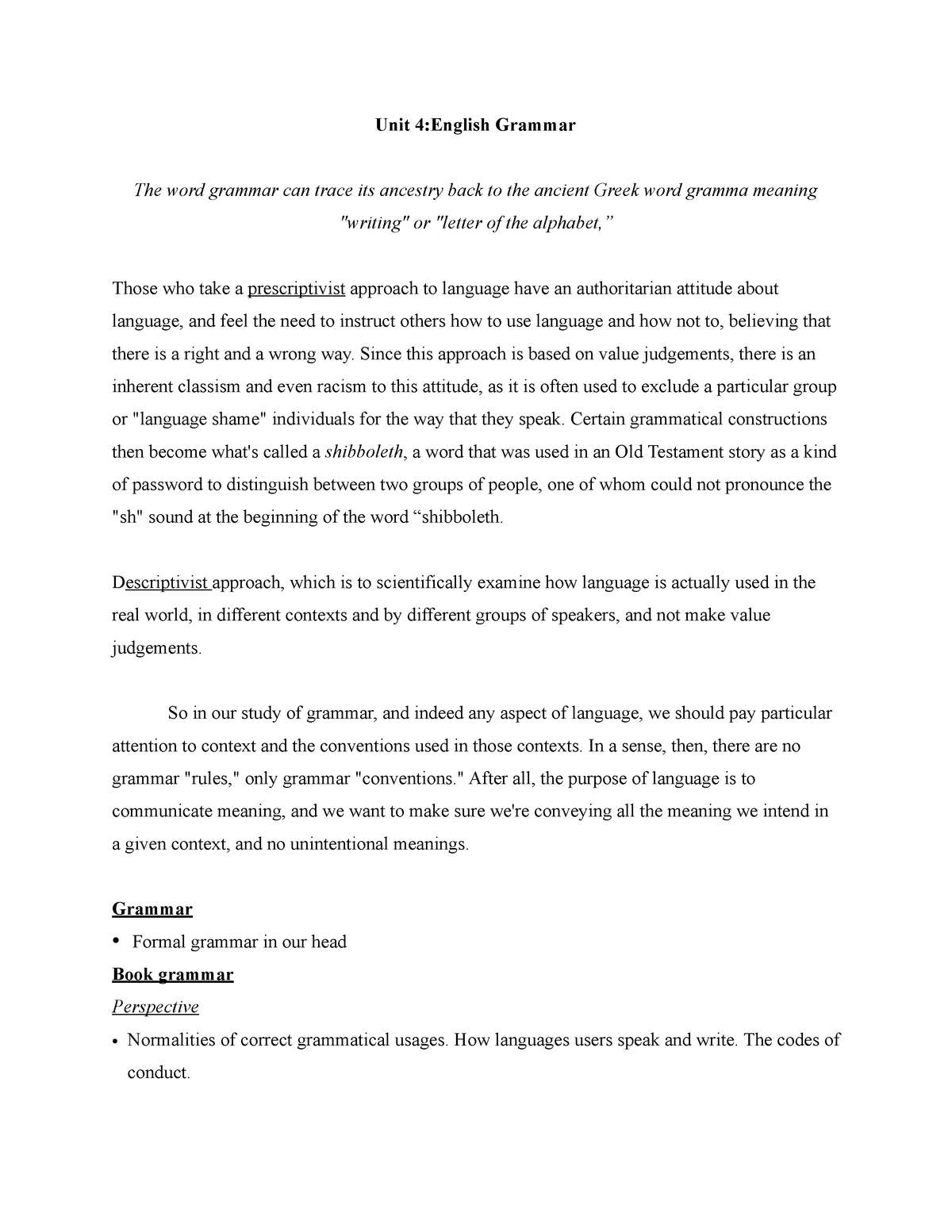 meaning of conventions in writing