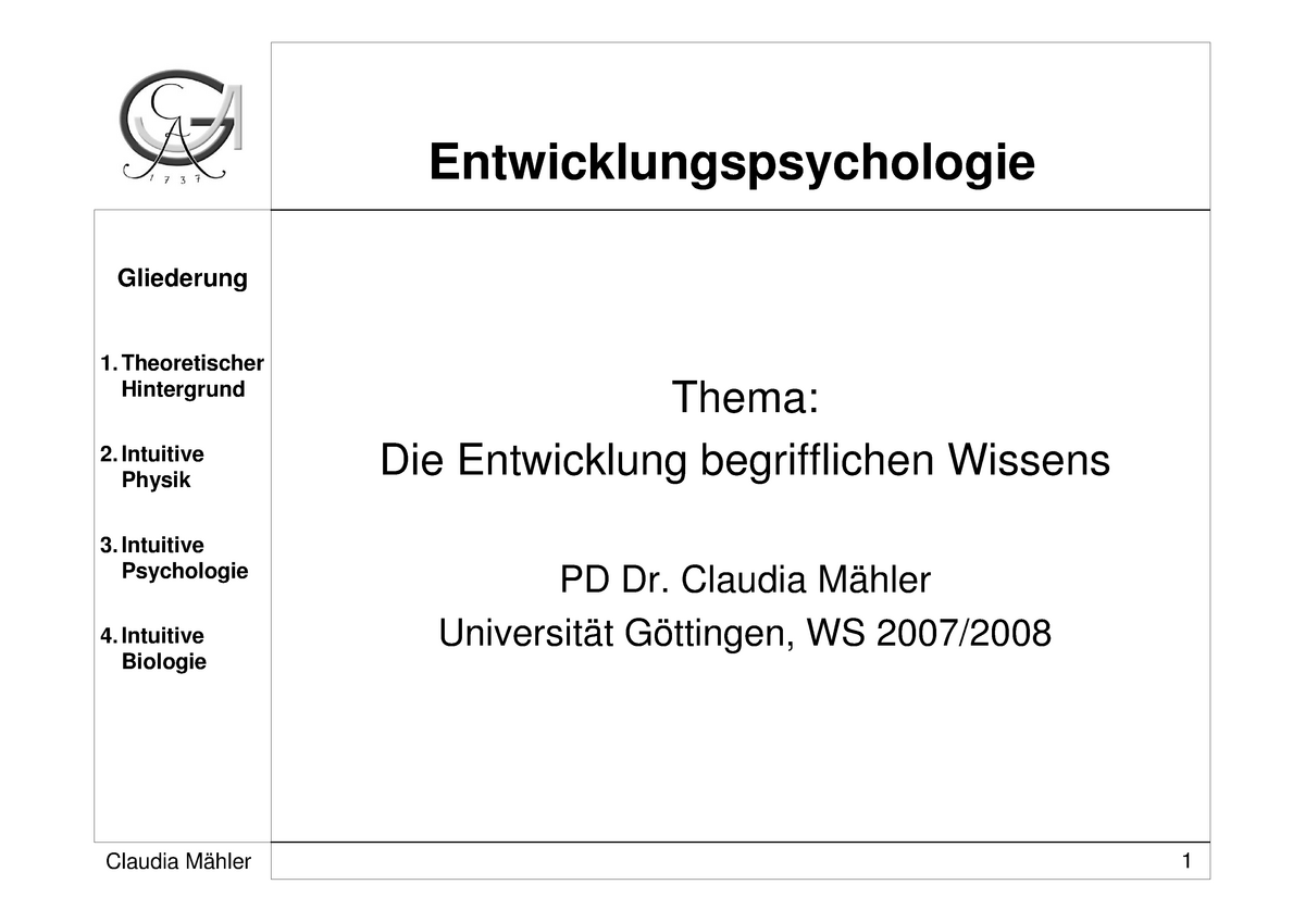 Intuitive psychologie