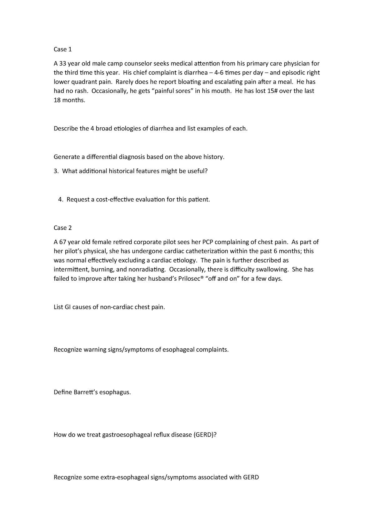 Casos para praticar da net - 02026215: Patologia do Sistema