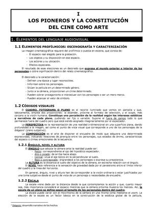 1. Los pioneros y la constitución del cine como arte - Cine Sociedad ...
