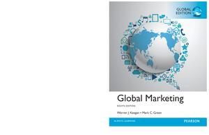 ace565d045eb (e Book) Global Marketing - StuDocu