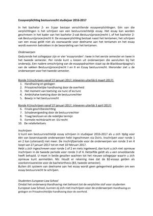 inschrijven essay bestuursrecht ru