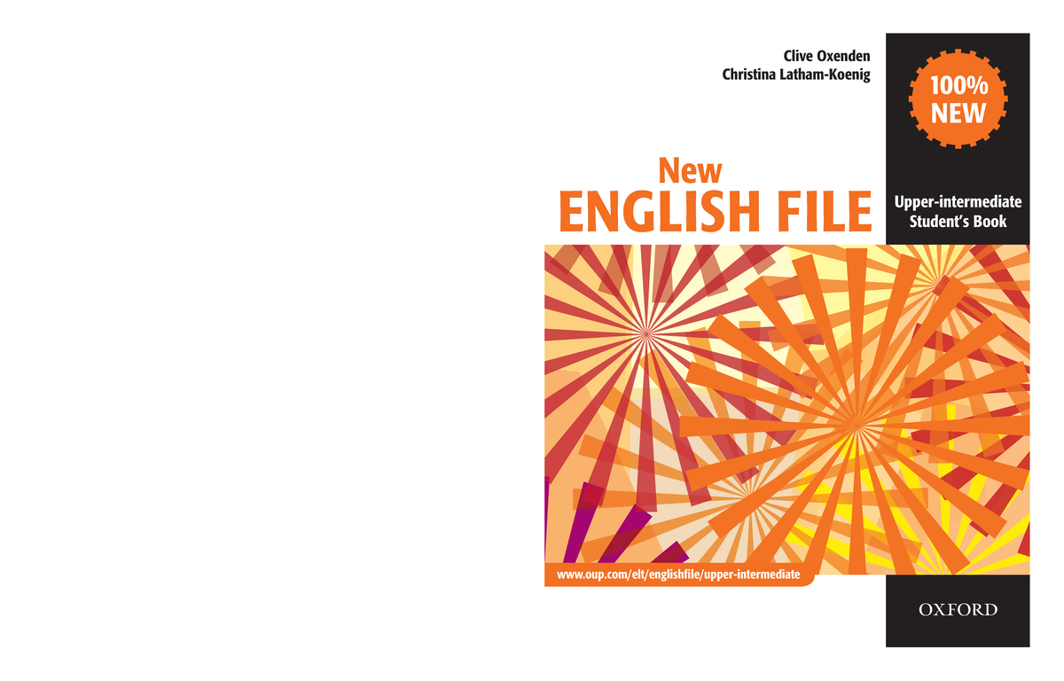 New English File Upper intermediate Students Book - StuDocu