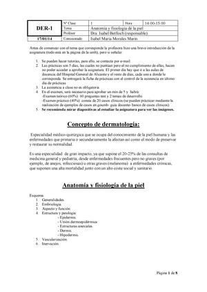 Dermatologia - Dermatología - StuDocu
