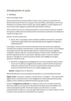 Tentamen 2018 A2997 Psicologia Sociale Studeersnel