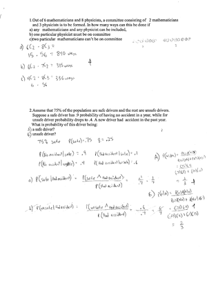 Exam 2011 - EE 31100: Probability And Random Processes - StuDocu