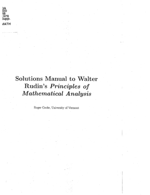 Rudin ch 4 2a 300 28 l 976 supp viath solutions manual to walter.