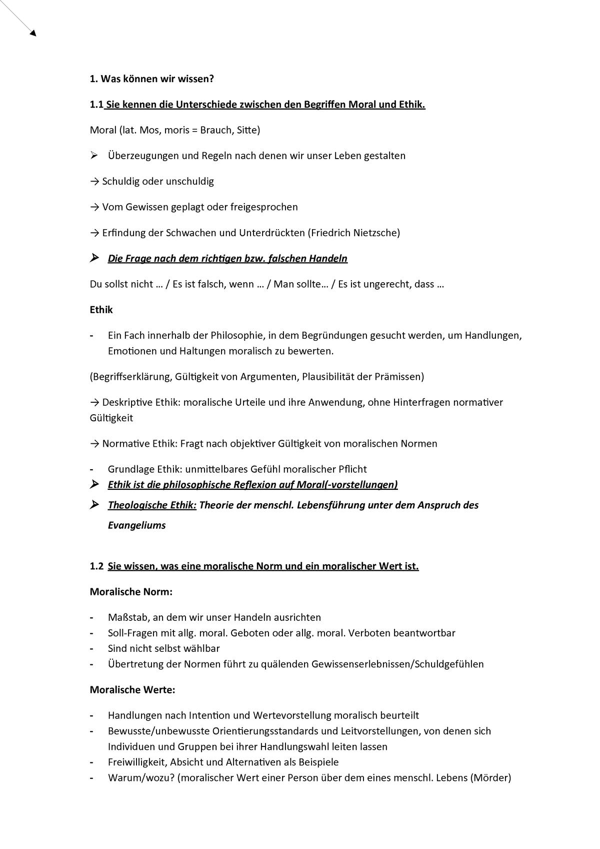 Klausur Ubungsfragen 1phil4002v Studocu