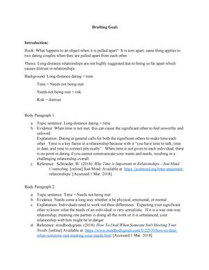 Causal drafting - essay - ENG-106: English Composition II - StuDocu