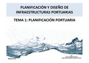 Explotación y planificacion de puertos