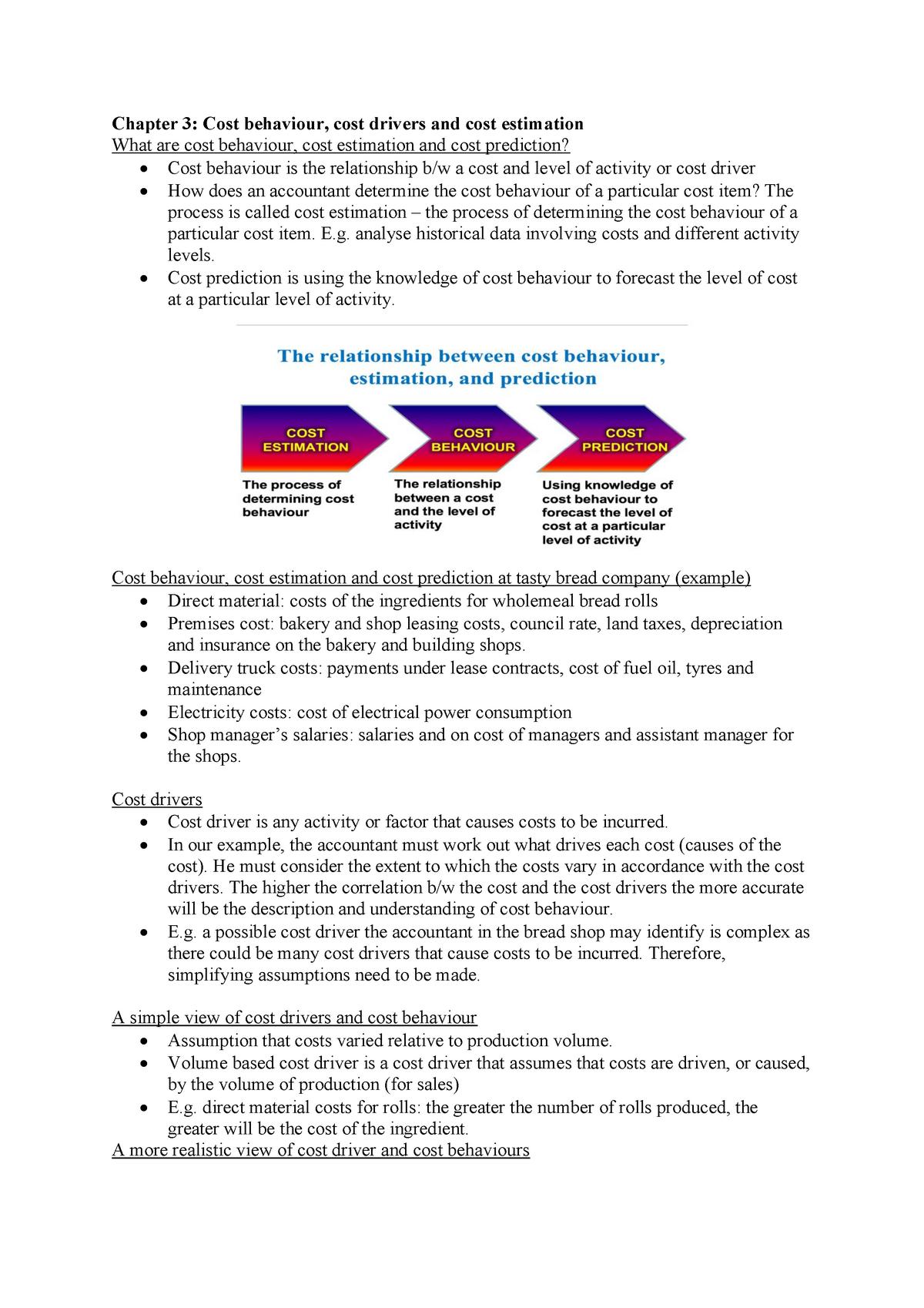 Chapter 3 MA - Lecture notes 3 - ACC2200 - Monash - StuDocu