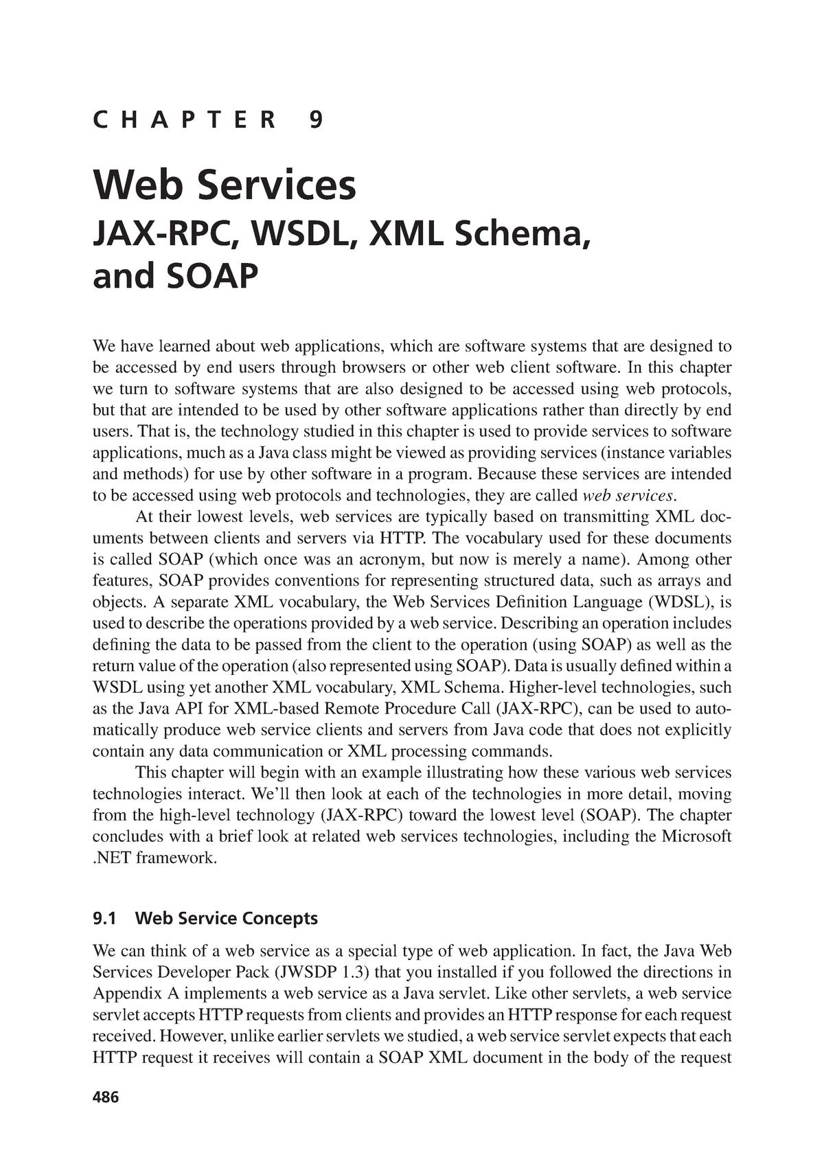 Chapter 09 - Web Services - COS30020: Web Application Development
